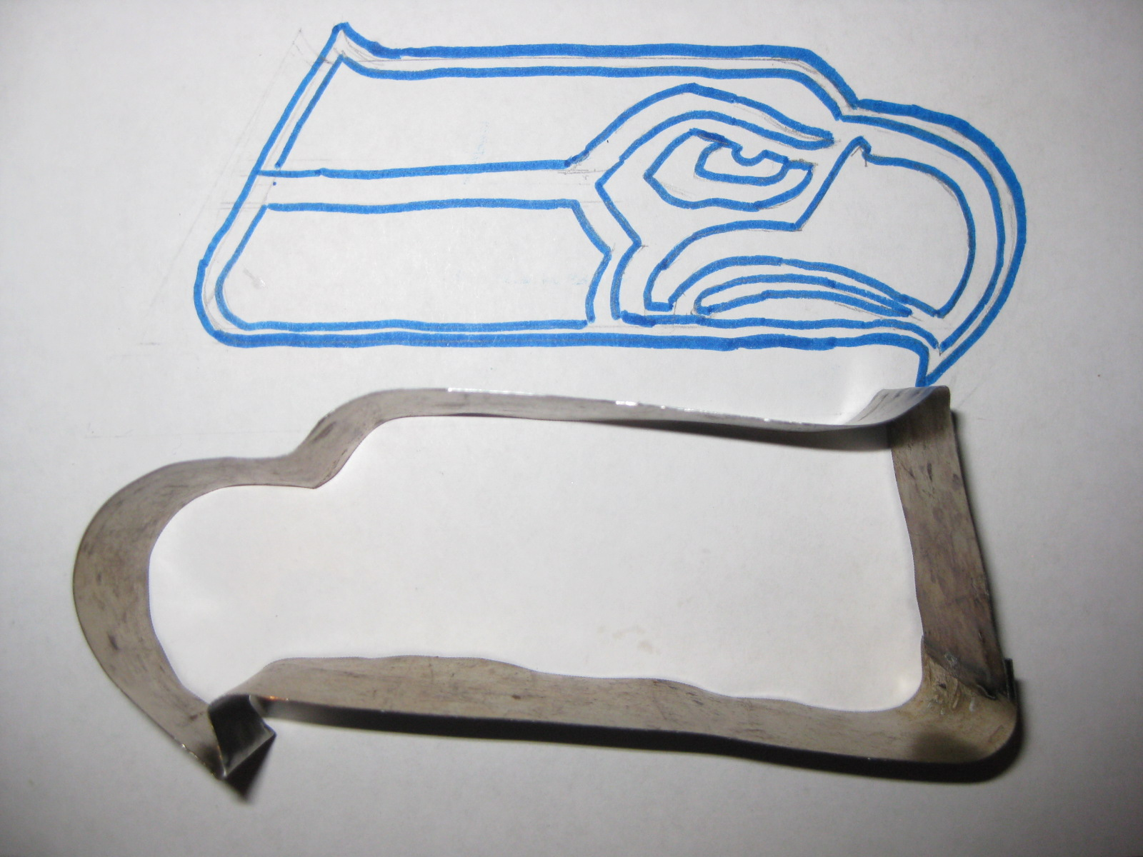 Seahawks Cookie Cutter