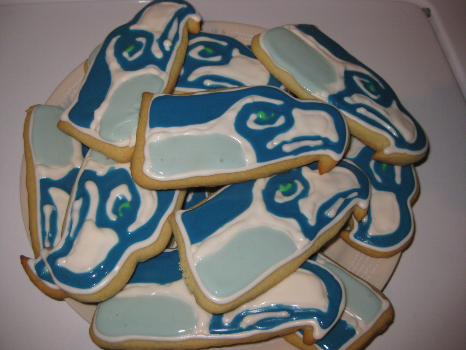 Seahawks Cookies
