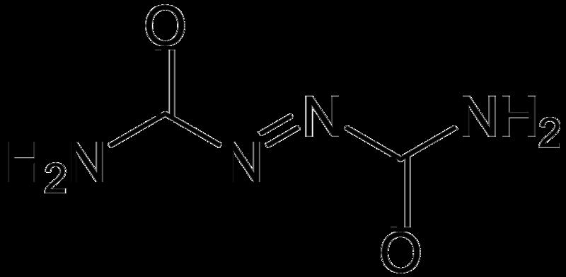 Azodicarbonamide Molecular Structure