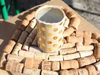 DIY Wine Corkboard