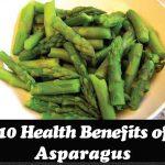 10 Health Benefits of Asparagus