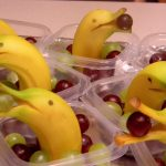 Banana Dolphins Cute Snack Idea