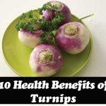 10 Health Benefits of Turnips