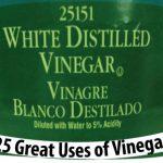 25 Great Uses of Vinegar