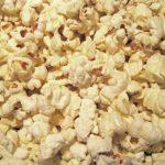 Homemade Kettle Corn Popcorn in a Pot