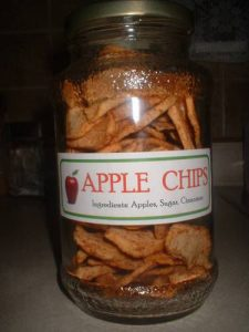 Healthy Crunchy Apple Chips
