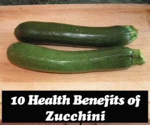 10 Health Benefits of Zucchini