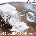 Homemade Laundry Soap – Only 3.5 Cents Per Load!