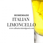 Homemade Authentic Limoncello