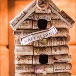DIY Wine Cork Birdhouse
