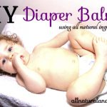 DIY Diaper Balm
