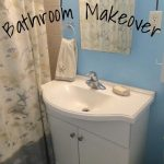 Cheap & Easy Bathroom Makeover