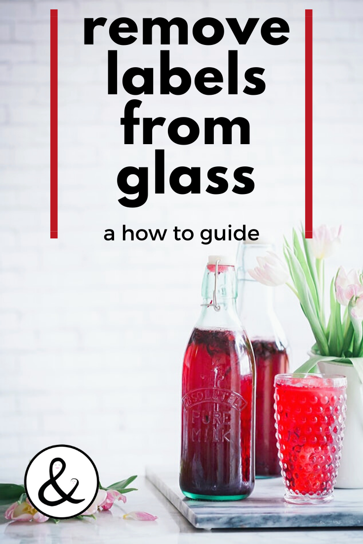 How to Remove Labels From Glass