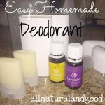 Easy Homemade Deodorant