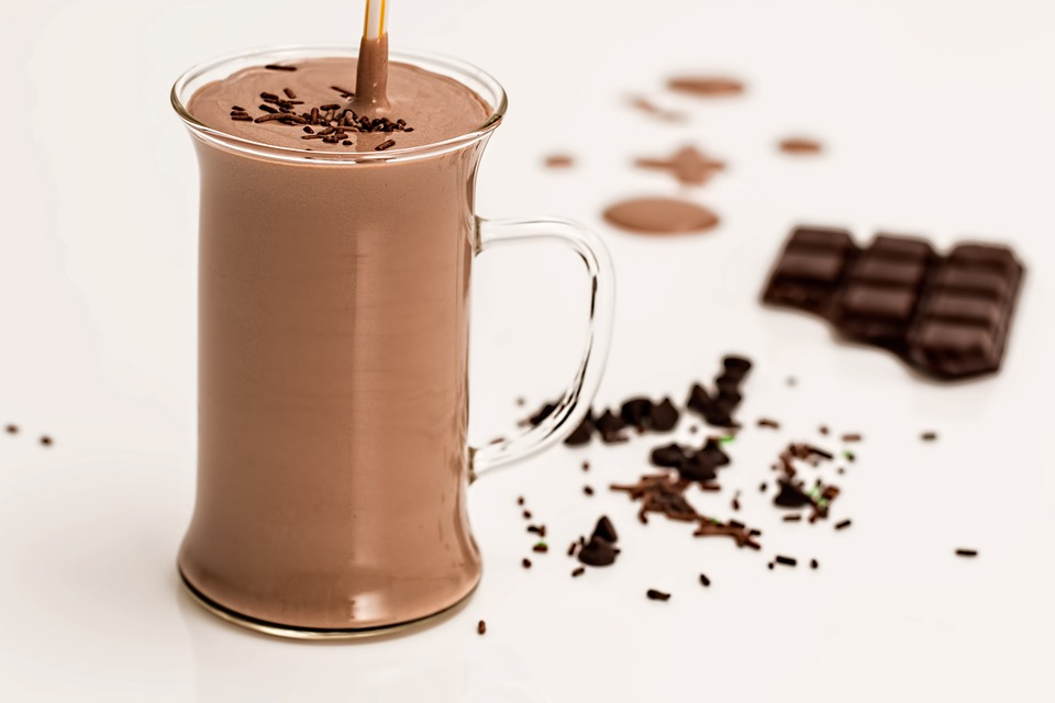 Healthy Chocolate Shake
