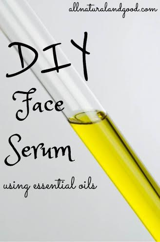 DIY Face Serum - All Natural & Good