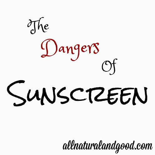 dangers of chemical sunscreens Other ingredients to avoid in sunscreen chemical sunscreen ingredients aren't the only toxins to be aware of in sun protection products as with all cosmetic and personal care products, it's important to read labels and choose items made with safe, natural ingredients.