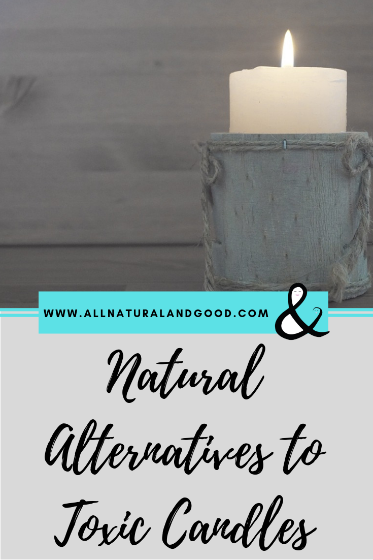 Replace toxic candles with natural alternatives to detox and deodorize your home naturally.