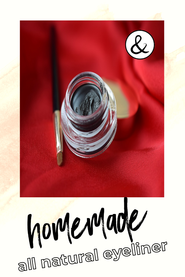 Homemade All Natural Eyeliner
