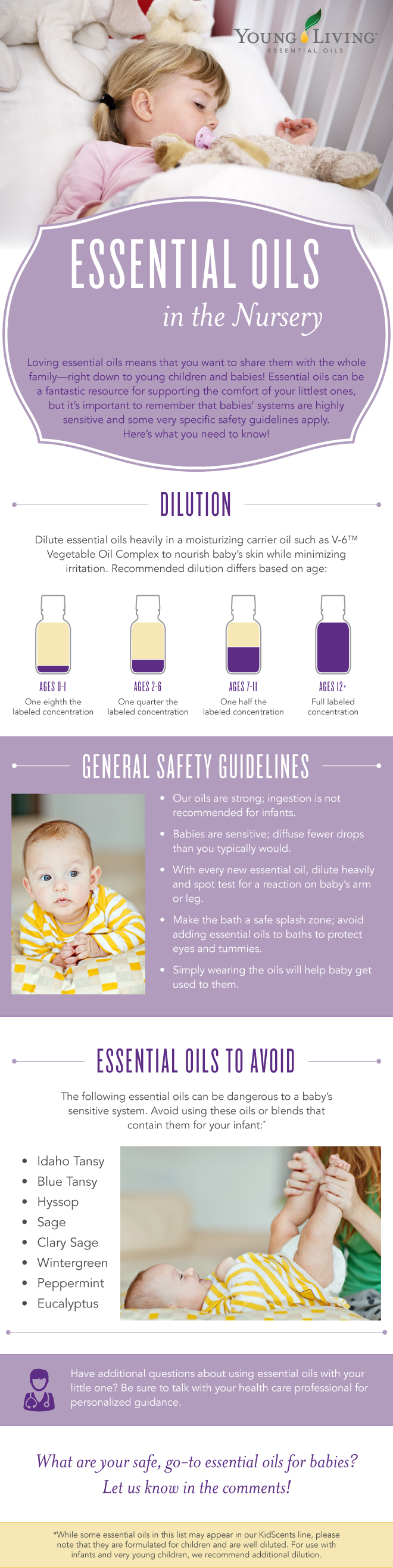 All Natural Essential Oils For Babies