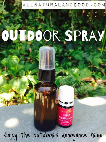 Outdoor Spray - All Natural & Good
