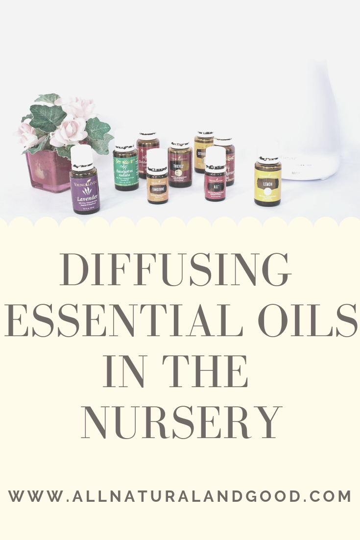 Everything you need to know about diffusing essential oils around babies and kids. Safely diffuse in the nursery and which essential oils to use.