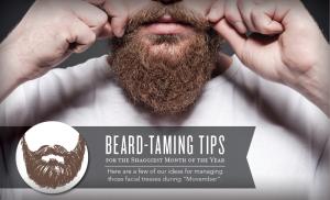 Beard-Taming Tips For Movember - All Natural & Good