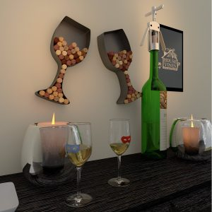 Wine Cork Wall Decor 2