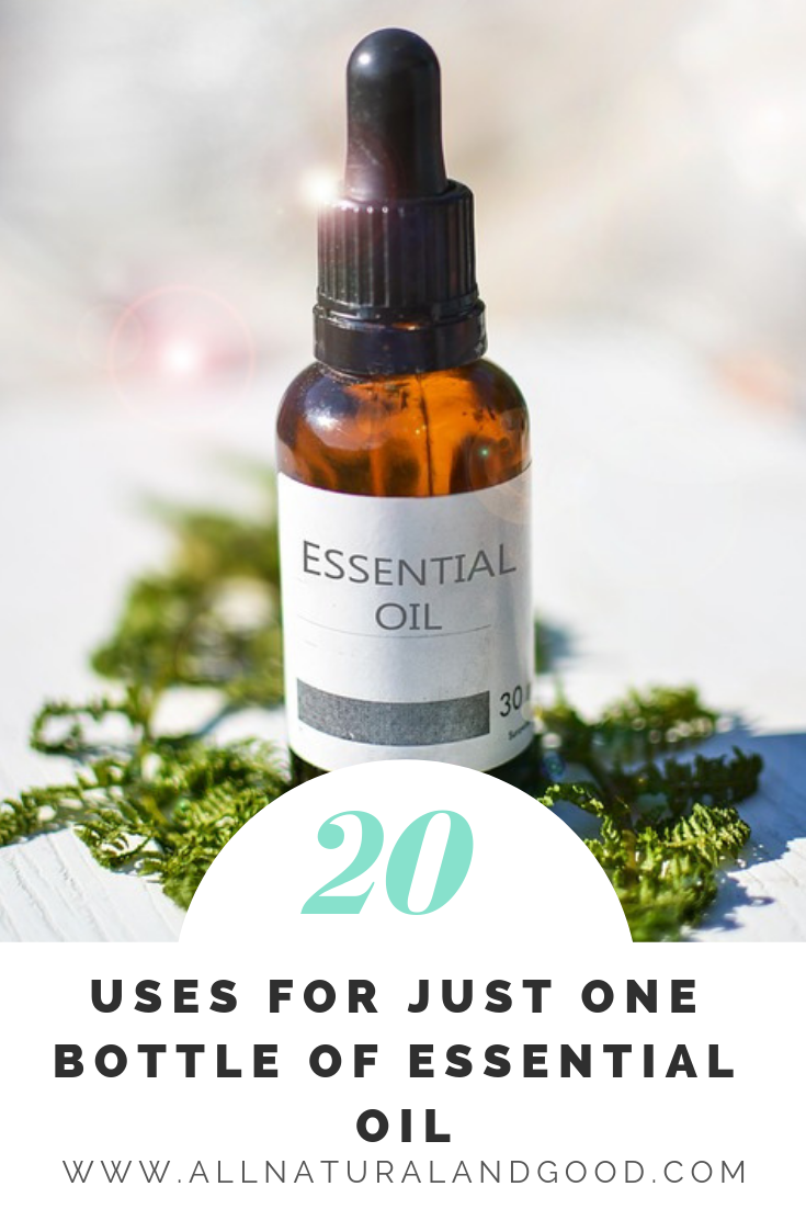 Here are some awesome cleaning, cooking, beauty, health and family uses for just one bottle of essential oils. Perfect for beginners or those on a tight budget. #essentialoils #essentialoilrecipes #essentialoilsforbeginners
