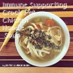 Immune Supporting Crock Pot Chicken Noodle Soup