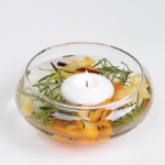 DIY Citronella Floating Candle Bowl For The Outdoors