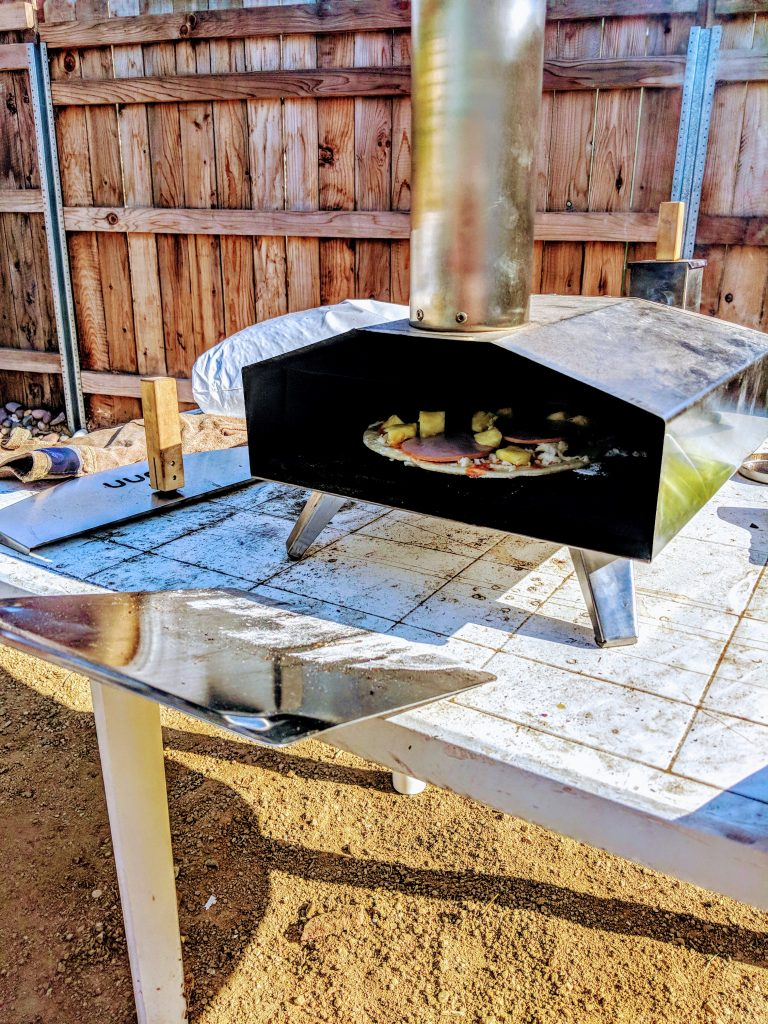 how to use uuni pizza oven