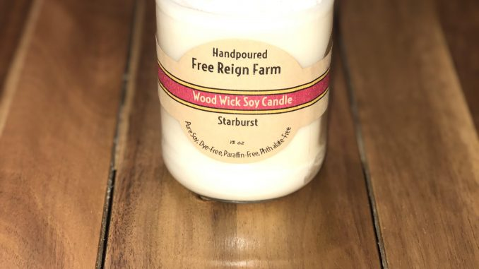Free Reign Farm Candle