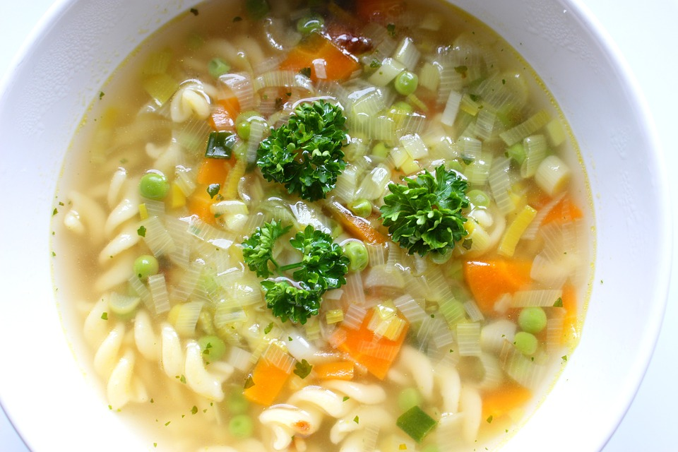 VitaClay Chicken Noodle Soup