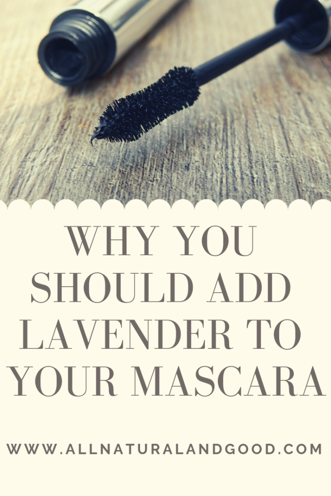 Add Lavender Essential Oil To Mascara
