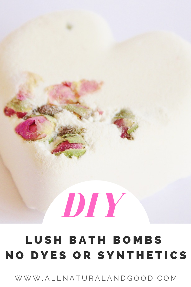Copy Cat Lush bath bombs without fragrances or dyes. Make your own Lush bath bombs at home!