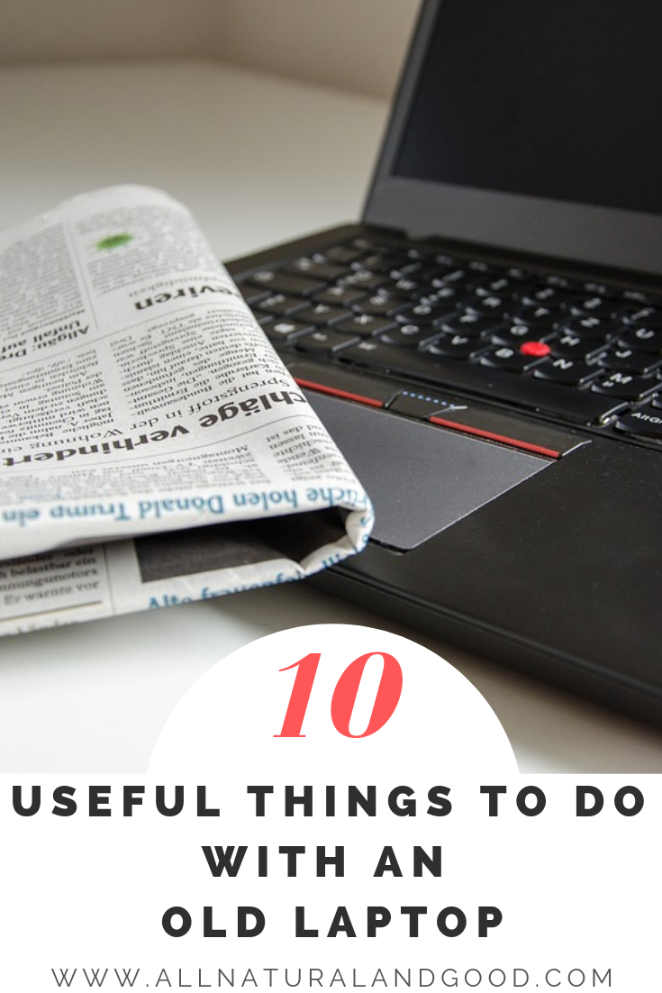 Do you have an old laptop and have no idea what to do with it? Instead of throwing it away, check out these uses.