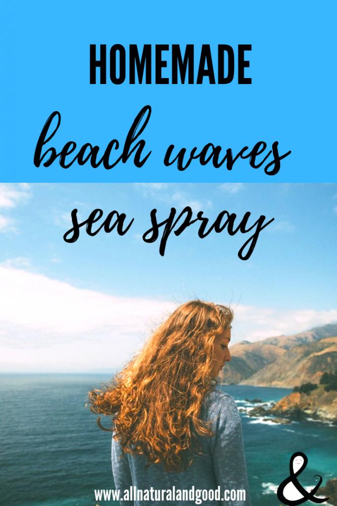 DIY Beach Waves Spray