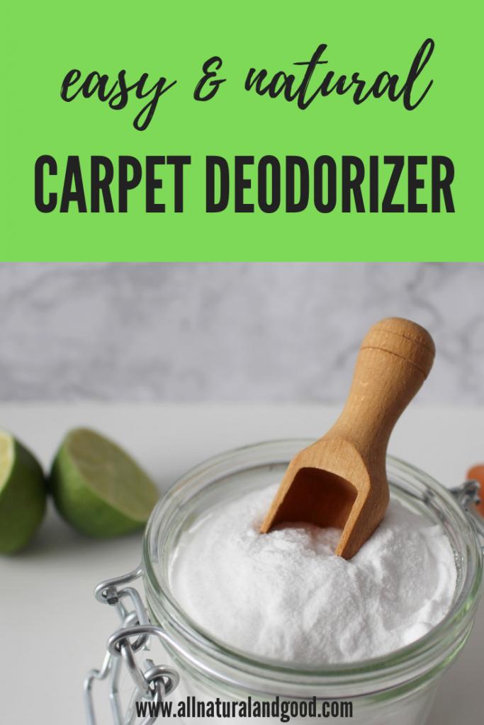 Easy Homemade Carpet Deodorizer