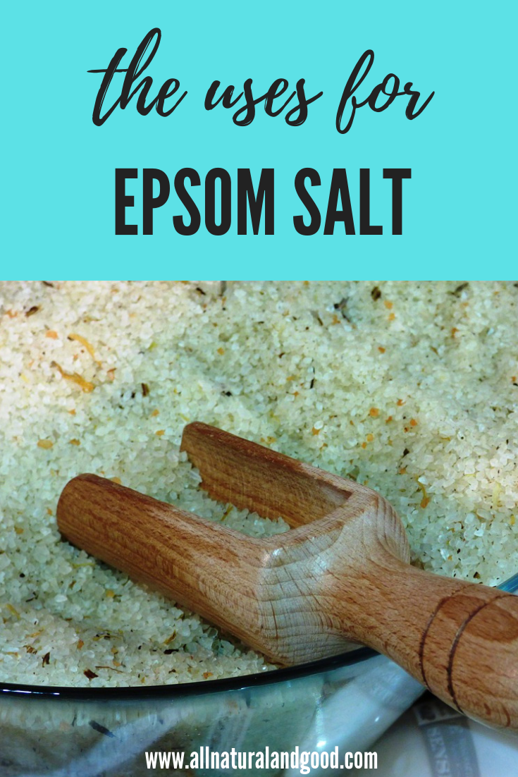 Epsom salt contains magnesium and sulfate. It can be used as a natural exfoliant, anti-inflammatory and to soothe sore muscles to name a few. #epsomsalt #magnesium #antiinflammatory