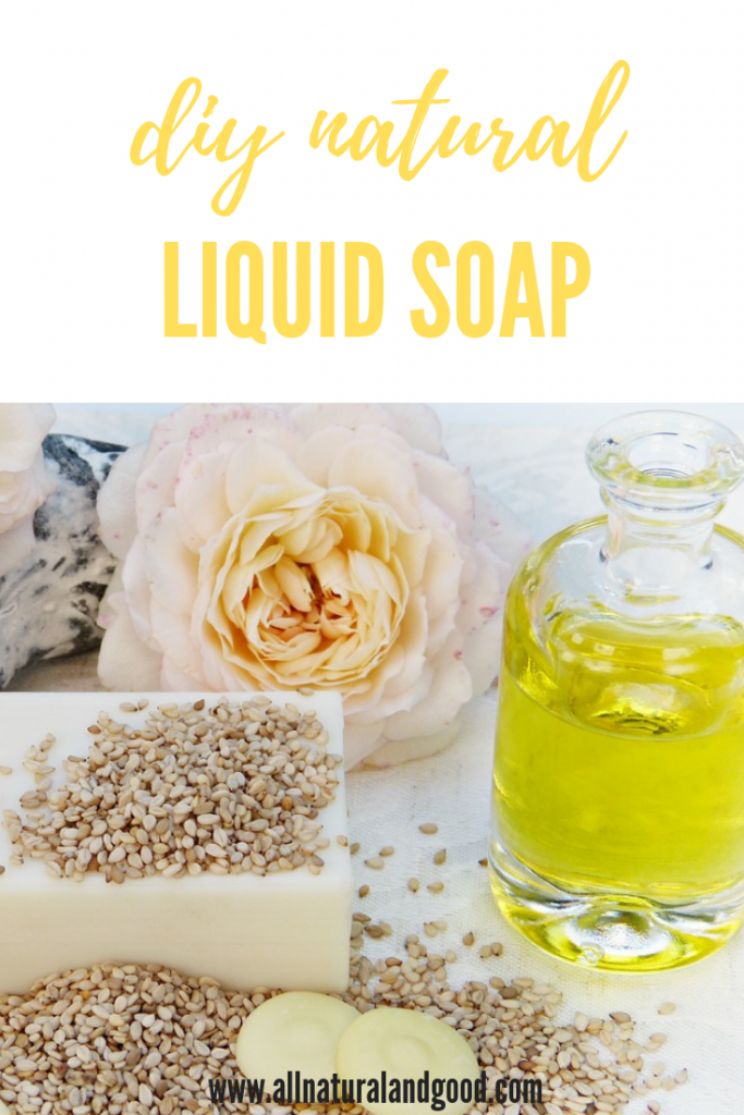 DIY Natural Liquid Soap