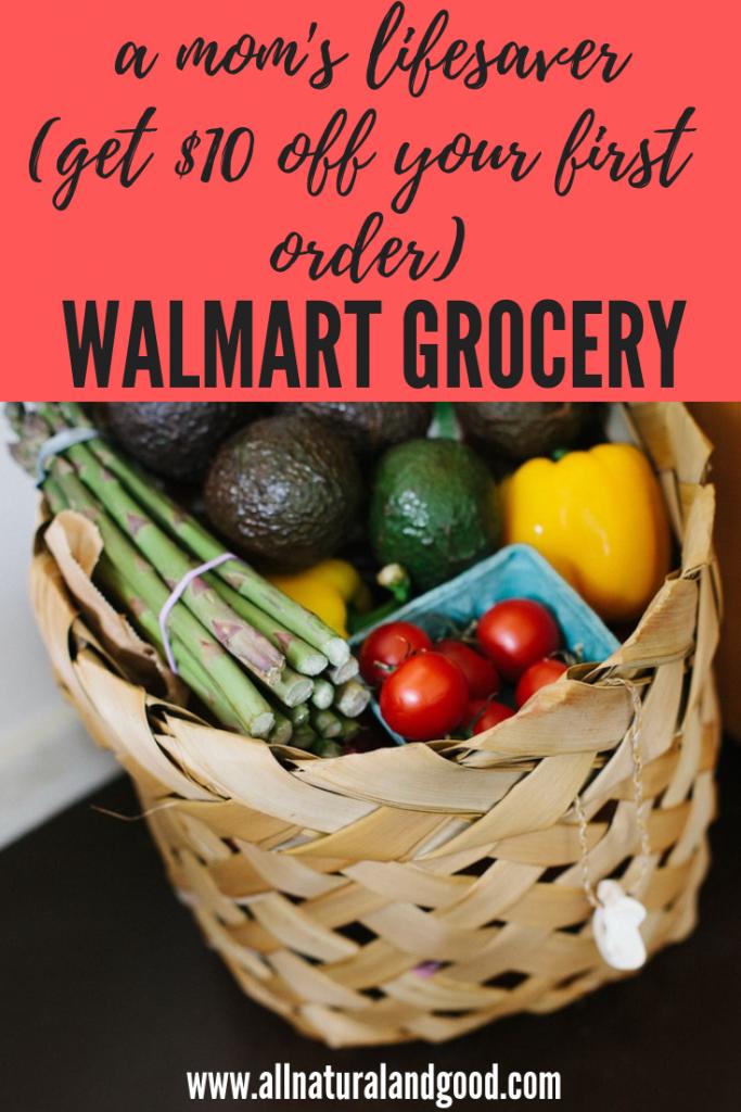 Walmart Grocery a Mom's LifeSaver