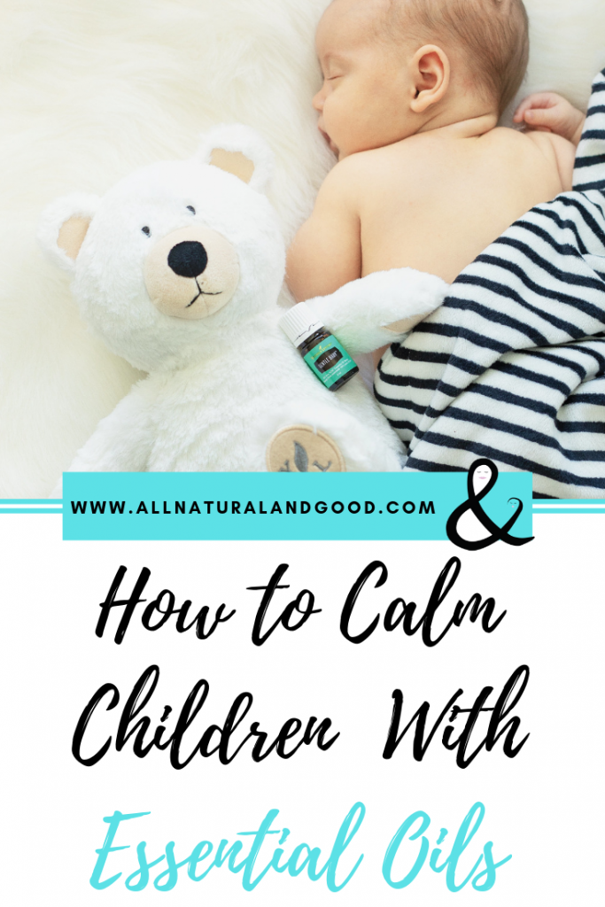 Calm Children with Essential Oils
