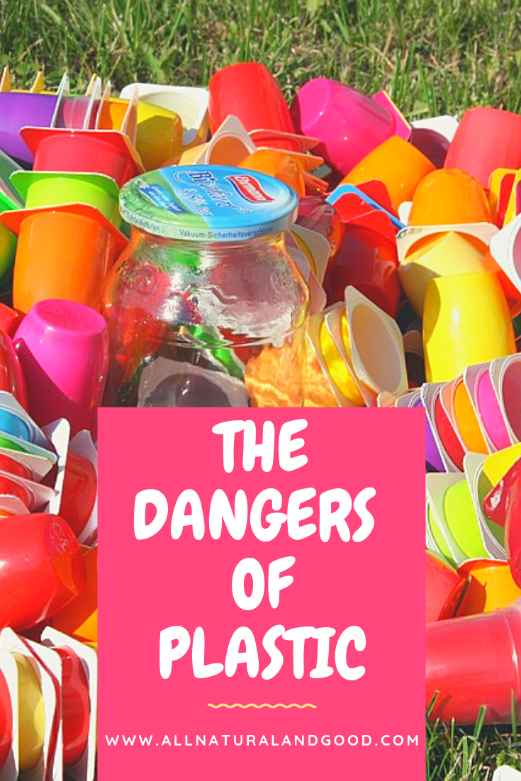 Most of us use plastic every day without realizing the dangers of plastic, even if it is bpa free. Think about baby toys, sippy cups, tupperware and more.