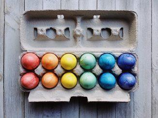 Vegan Allergy Easter Egg Decorating