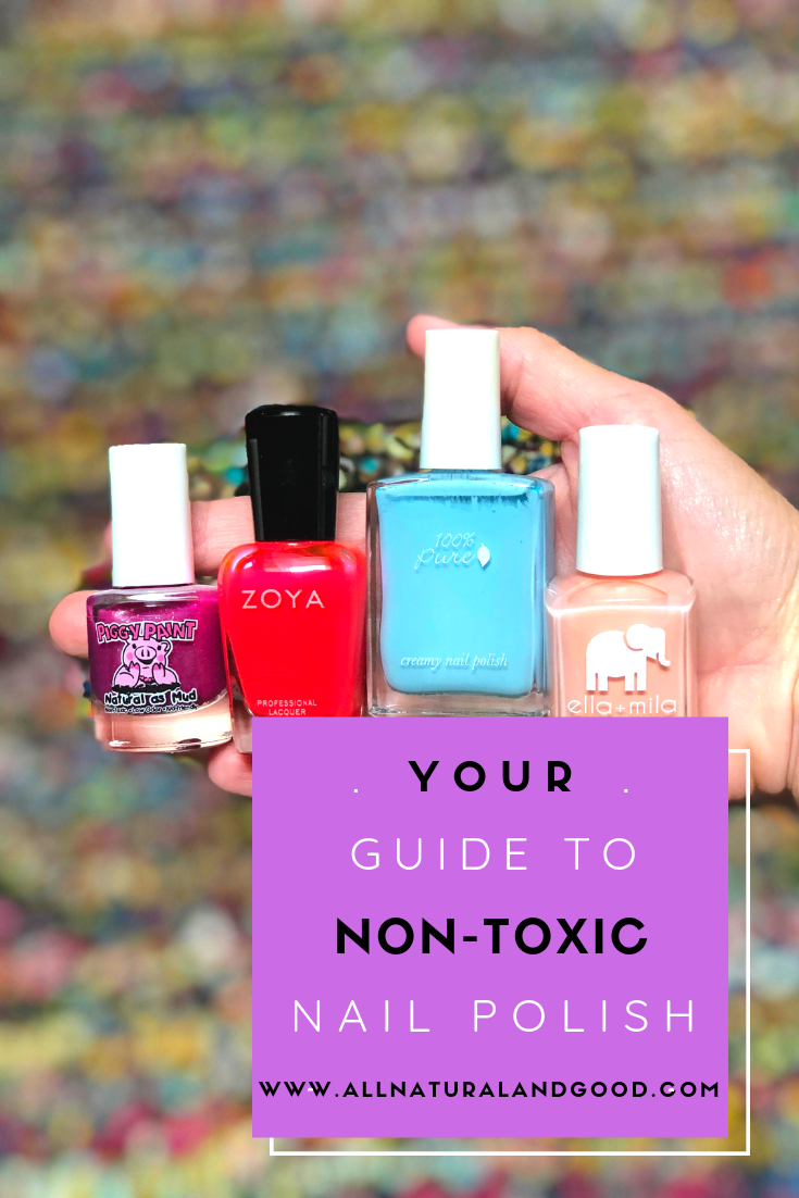 This is your guide to non-toxic nail polish. Most nail polishes contains several carcinogenic and toxic ingredients that can disrupt your hormones.