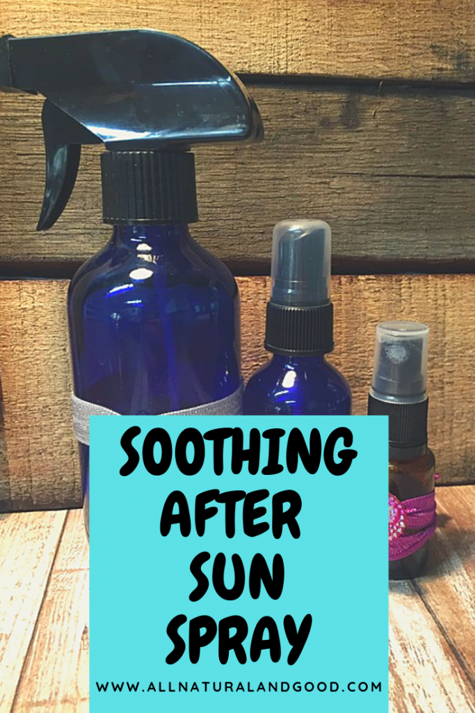 Soothing After Sun Spray