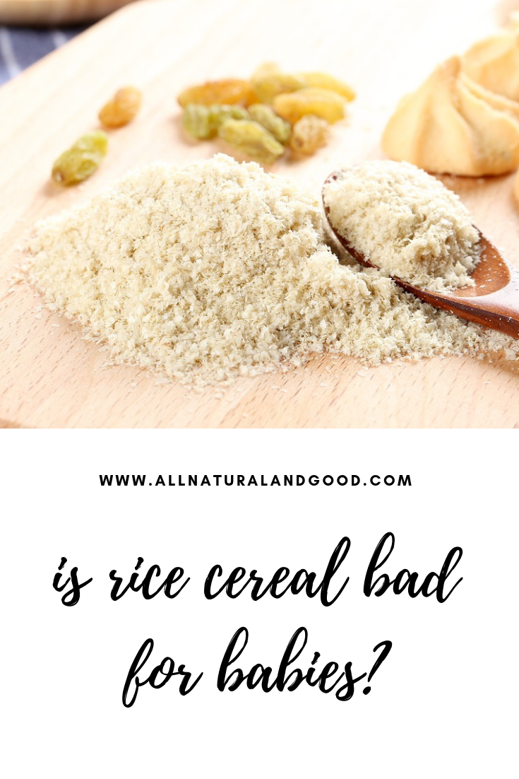Is rice cereal bad for babies? Here\'s the deal, rice cereal has been a popular choice for first time solids, including adding it to bottles to drink. But what most parents and caregivers do not know is that rice cereal should NOT be the first food to introduce to your baby.