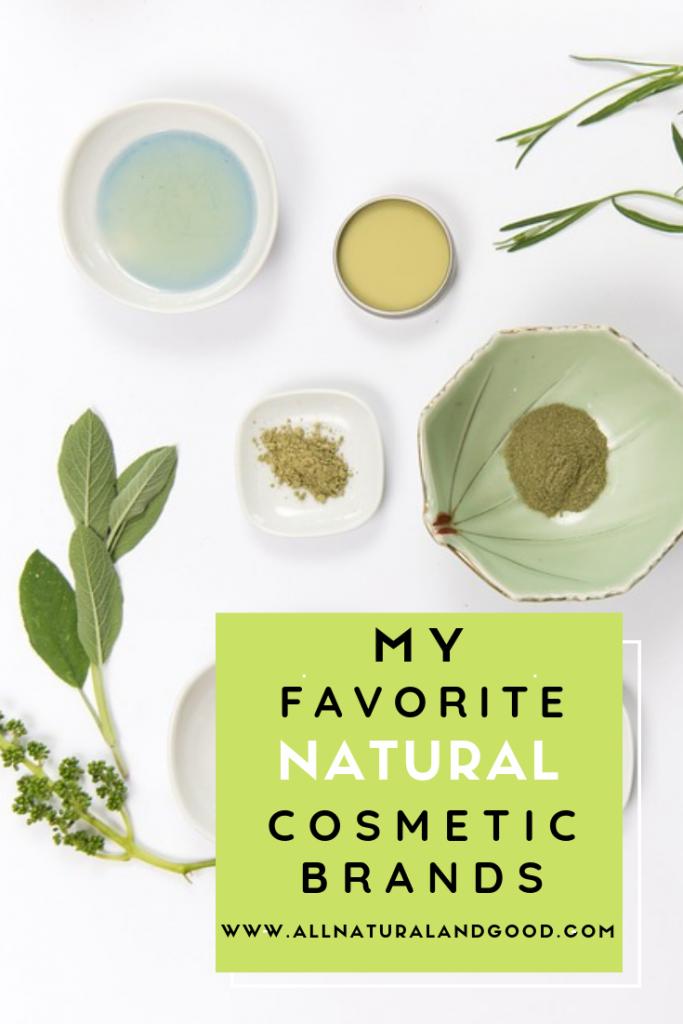 My Favorite Natural Cosmetics