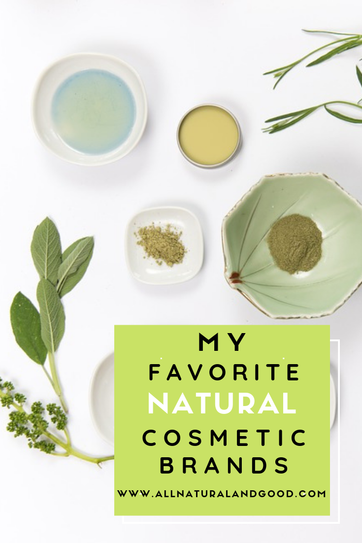 My favorite natural and vegan cosmetics, fruit pigmented makeup and organic skin care products and brands.